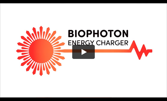 Bekijk de video van de Biophoton Energy Charger op YouTube
